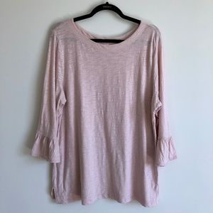 Old Navy Pink Bell Sleeve Top | XL